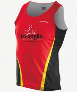 Tri-Anglia Men's Run Singlet-0